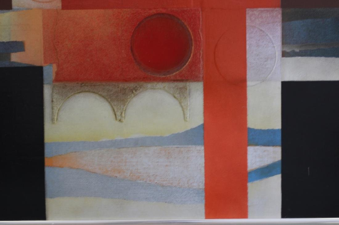 Cubist Abstract Signed Marg Ludvic, 1975 - 4