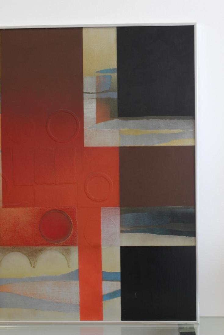 Cubist Abstract Signed Marg Ludvic, 1975 - 5