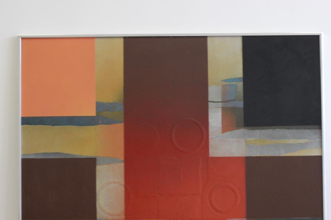 Cubist Abstract Signed Marg Ludvic, 1975 - 7