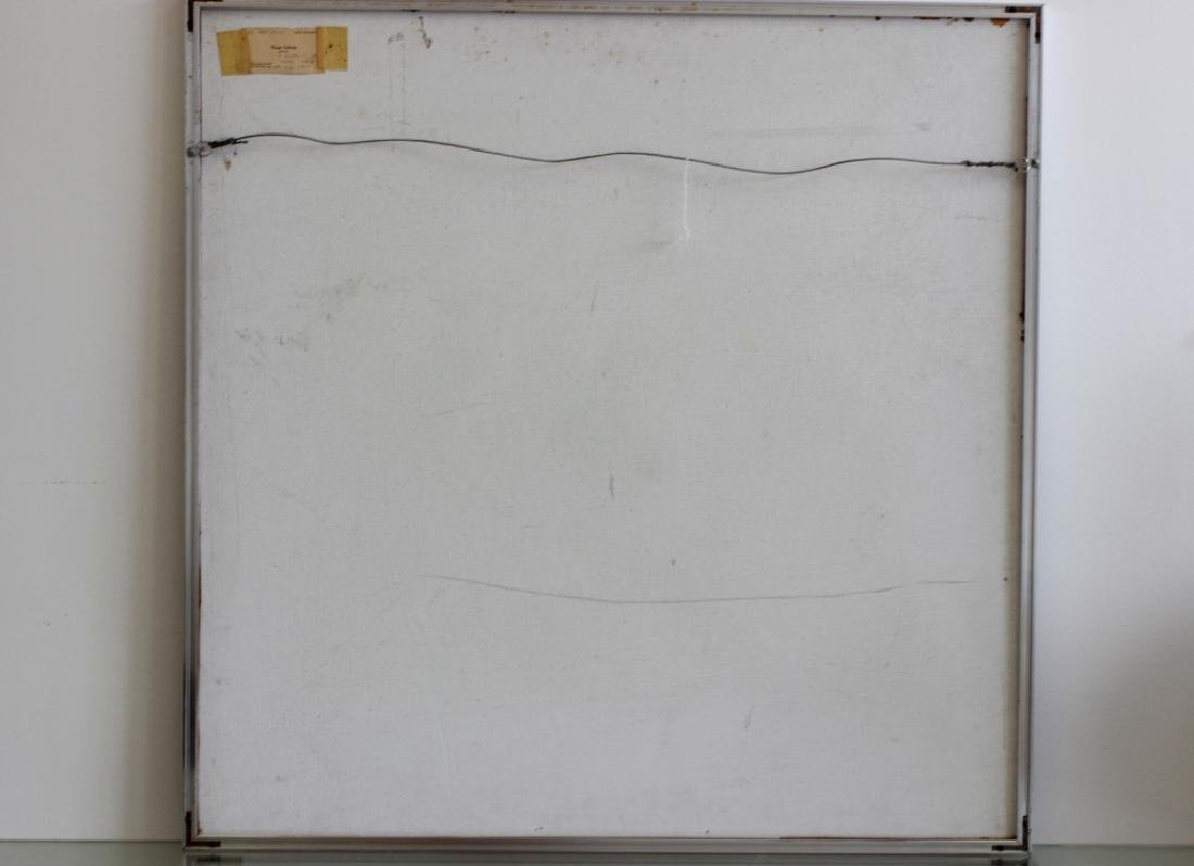 Cubist Abstract Signed Marg Ludvic, 1975 - 8