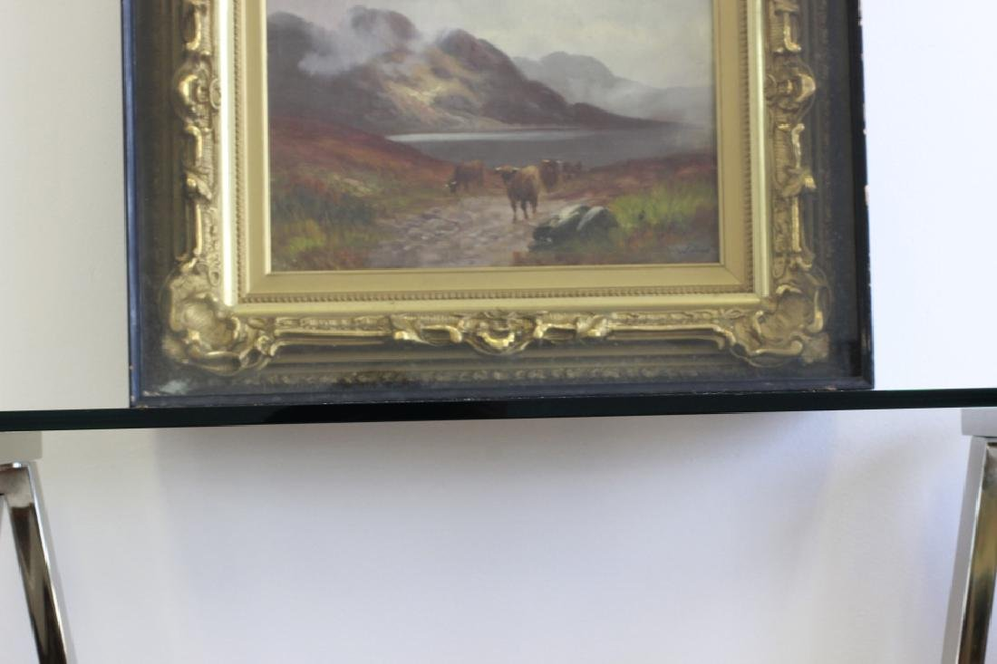 19thc O/C Cows Signed Walter - 5
