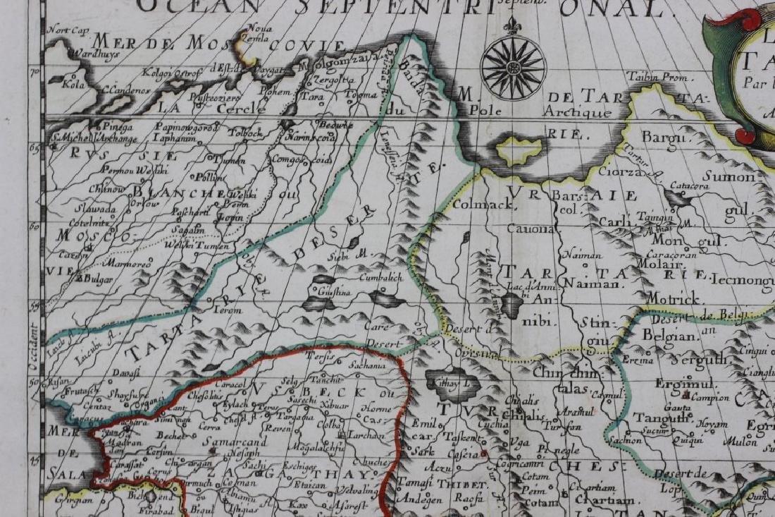 Old Map of Siberia w/ Original Color - 6