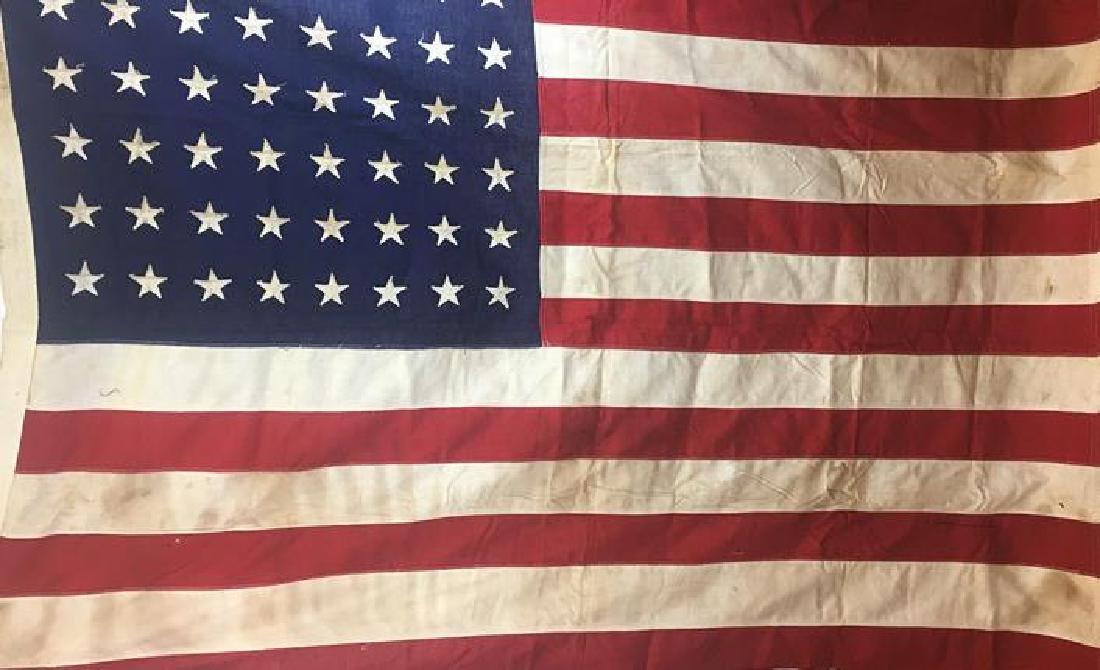 Vintage American Flag w/ 48 Stars