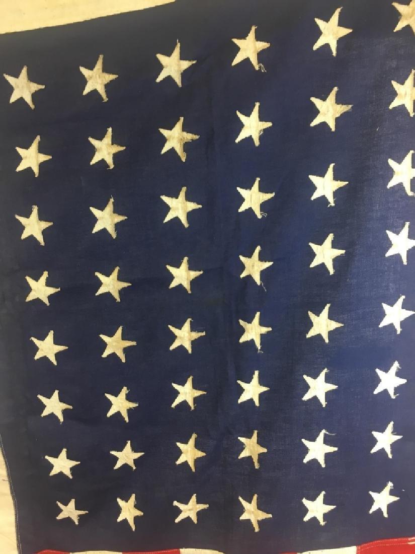 Vintage American Flag w/ 48 Stars - 2