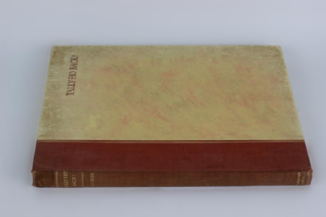 Book, Tally Ho Back - 2