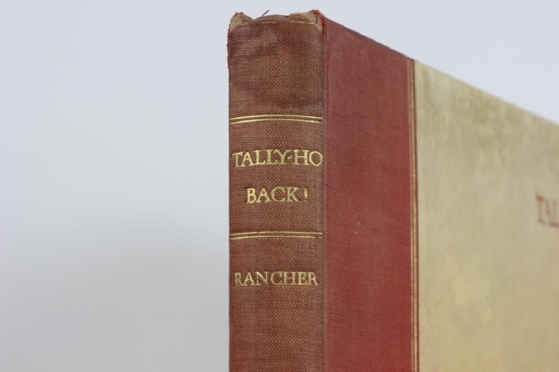 Book, Tally Ho Back - 3