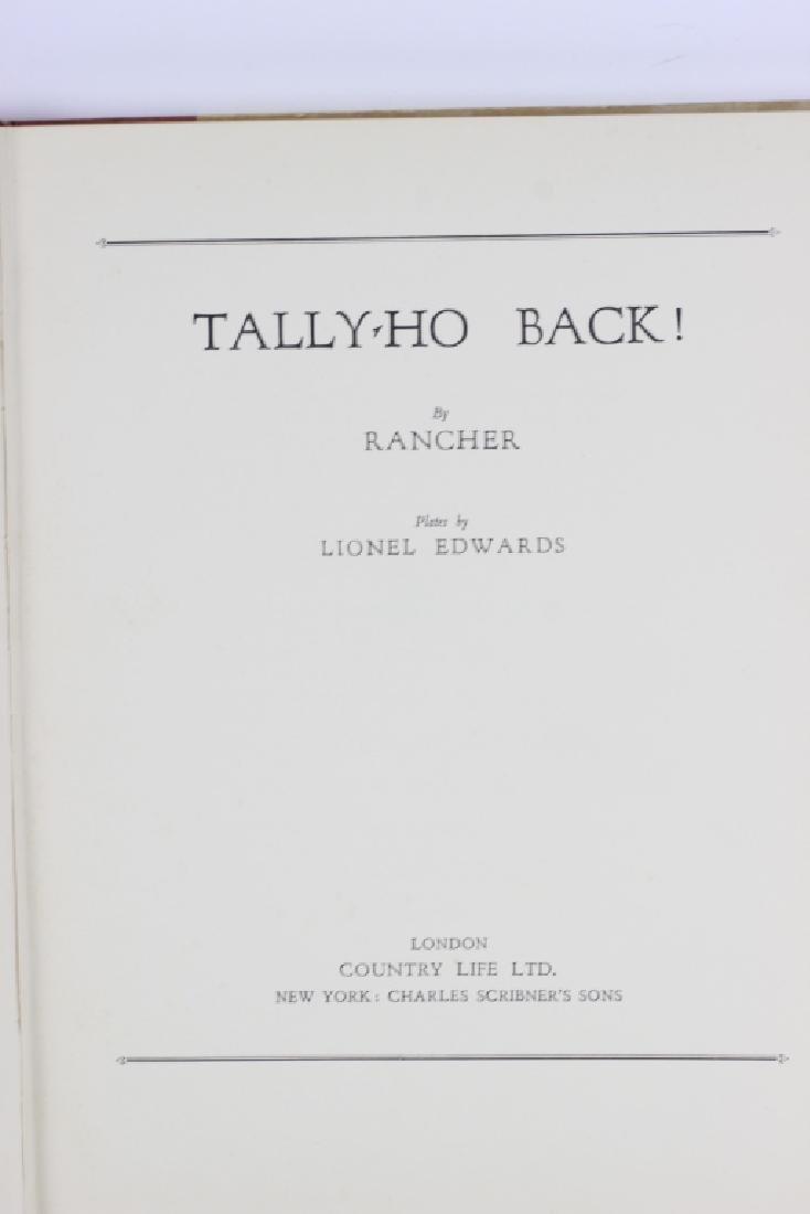Book, Tally Ho Back - 5