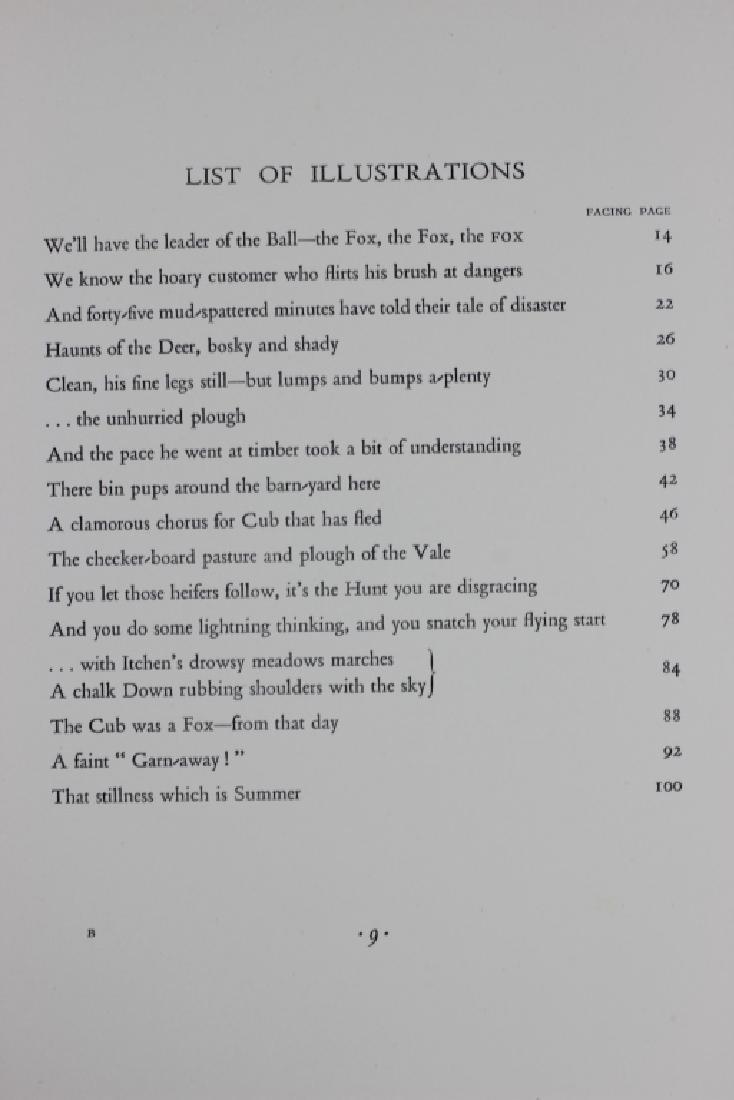 Book, Tally Ho Back - 7
