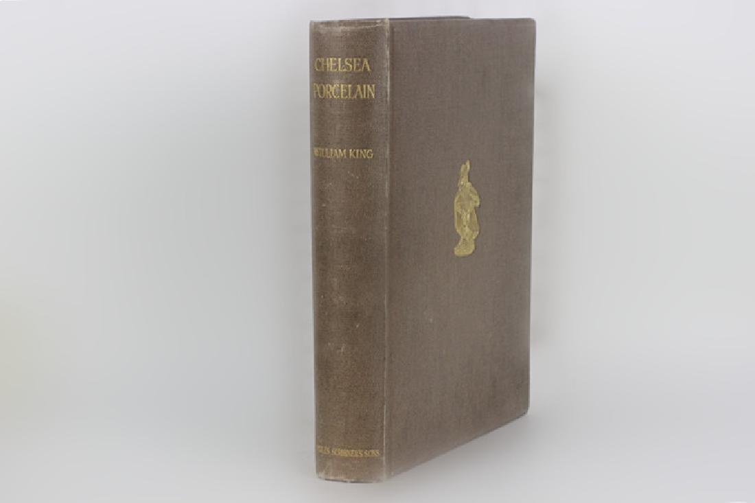 Rare Old Book of Chelsea Porcelain