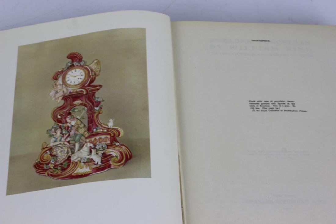 Rare Old Book of Chelsea Porcelain - 7