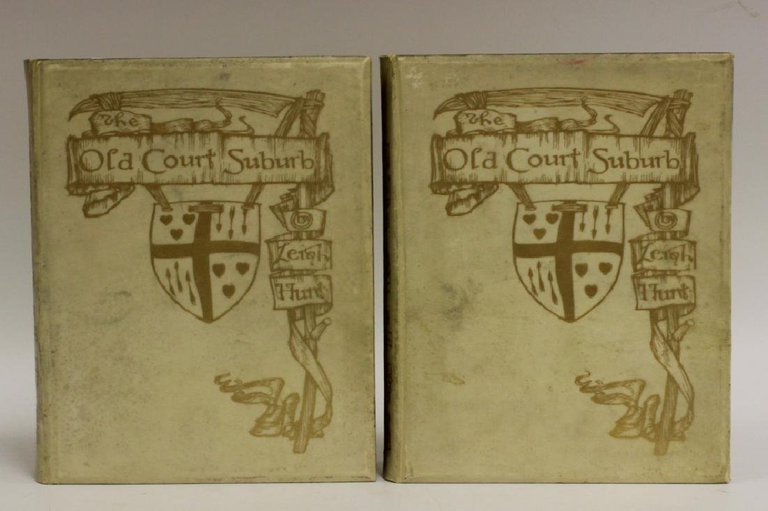 2 Ltd. Edition Old Books, The Old Court Suburb