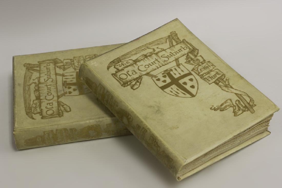 2 Ltd. Edition Old Books, The Old Court Suburb - 2