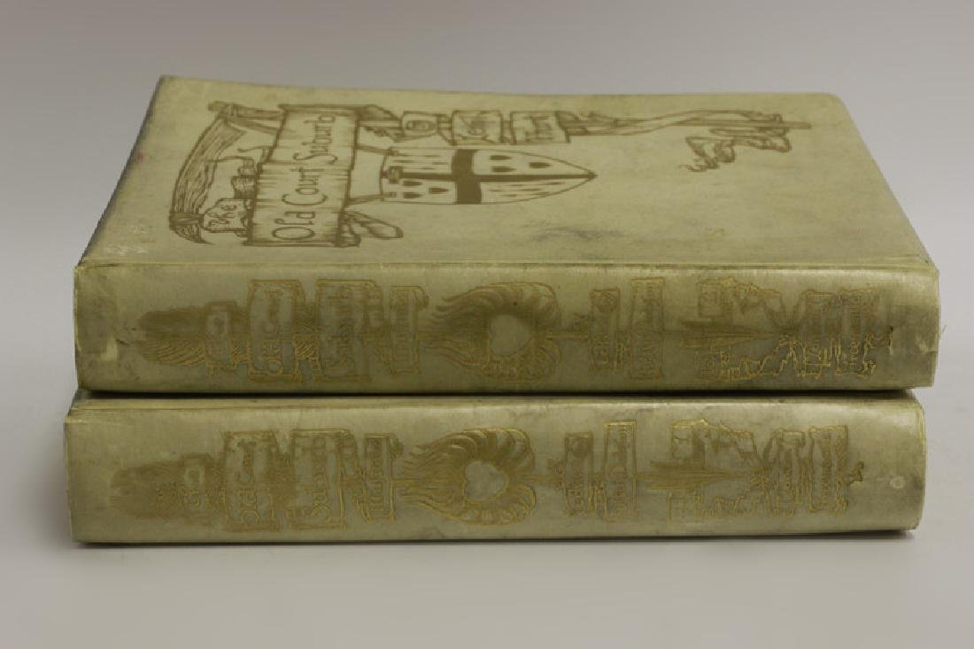 2 Ltd. Edition Old Books, The Old Court Suburb - 7