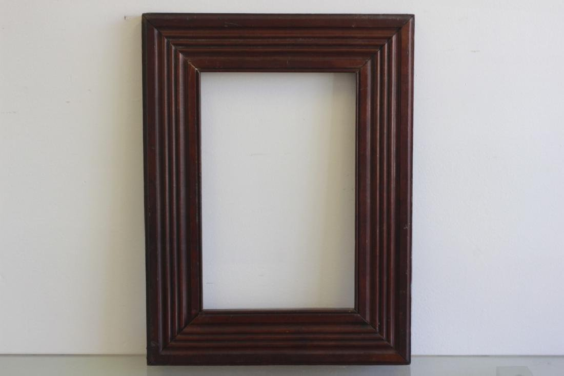5 Old Frames. 1 with Mirror, 1 with Crest. 3 Empty - 8