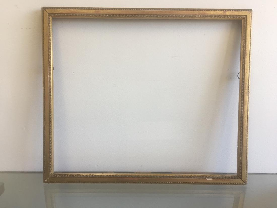 5 Old Frames. 1 with Mirror, 1 with Crest. 3 Empty - 9