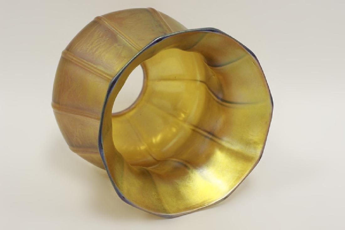 Quezal Art Glass Shade - 2