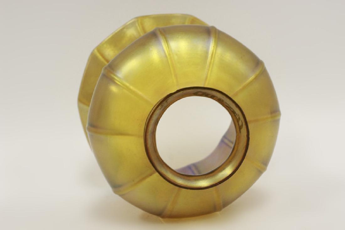 Quezal Art Glass Shade - 3