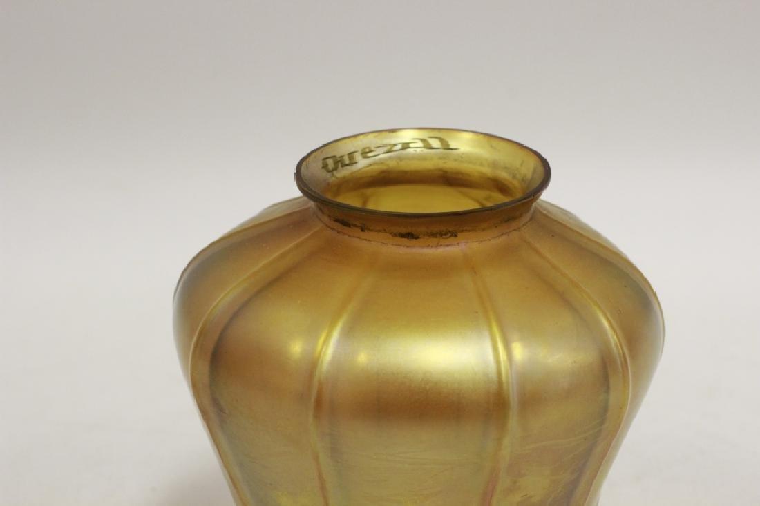 Quezal Art Glass Shade - 4