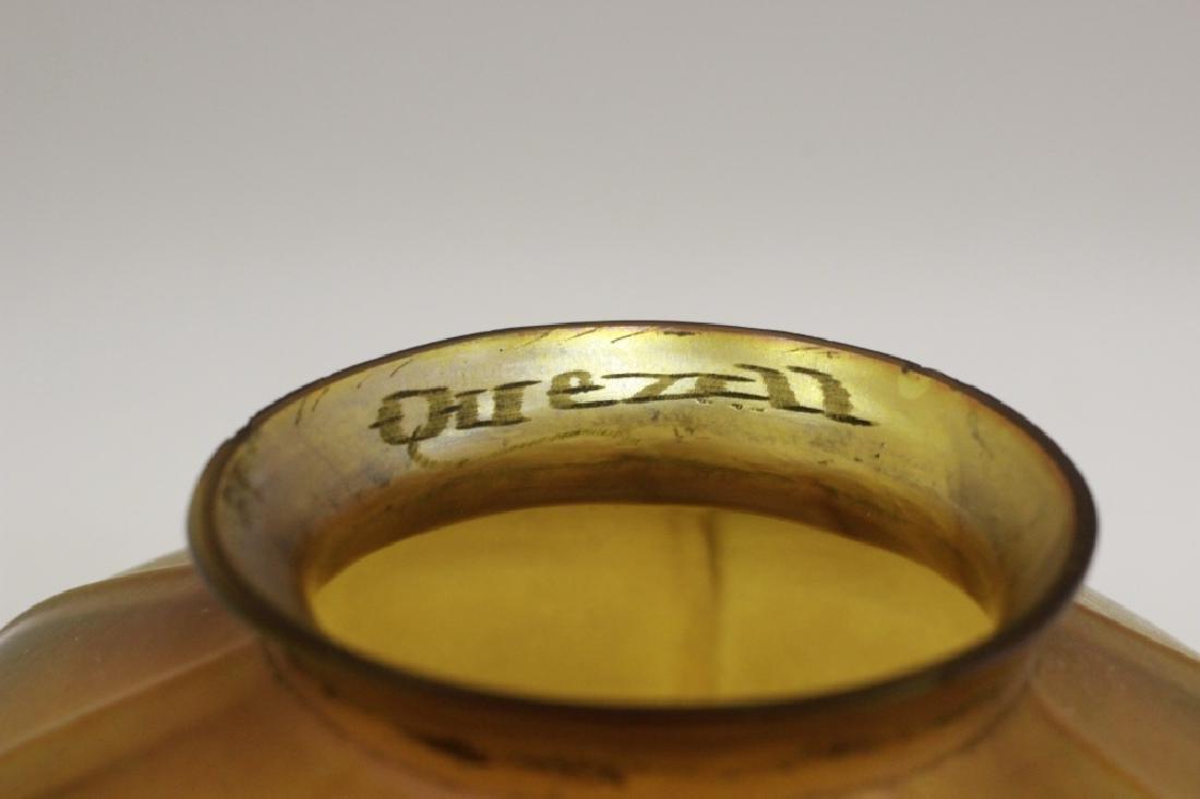 Quezal Art Glass Shade - 5