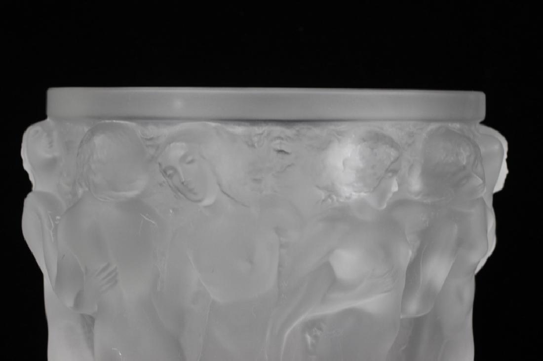 Lalique Bacchantes Vase - 6