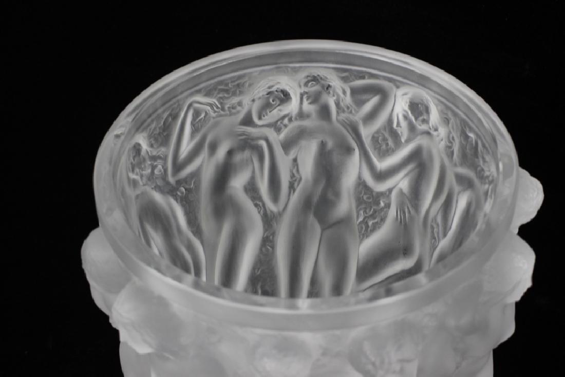 Lalique Bacchantes Vase - 7