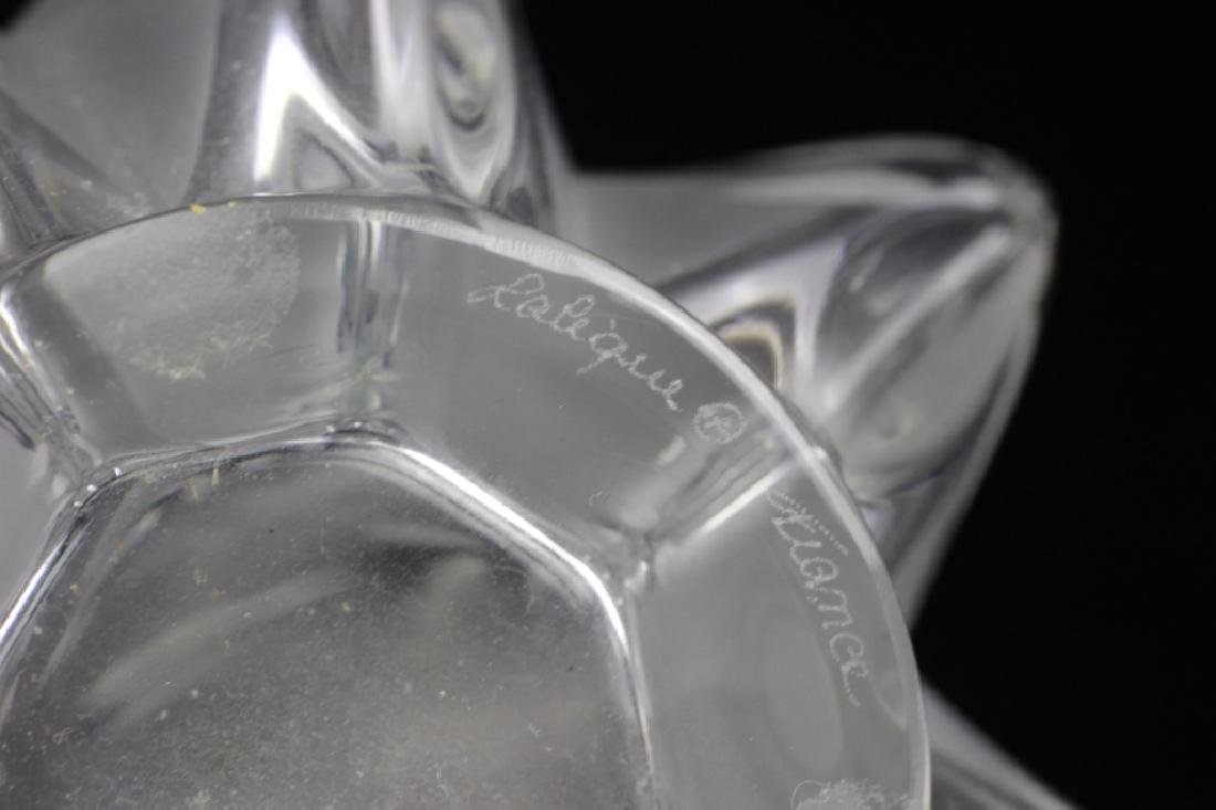 Lalique Tall Vase - 10