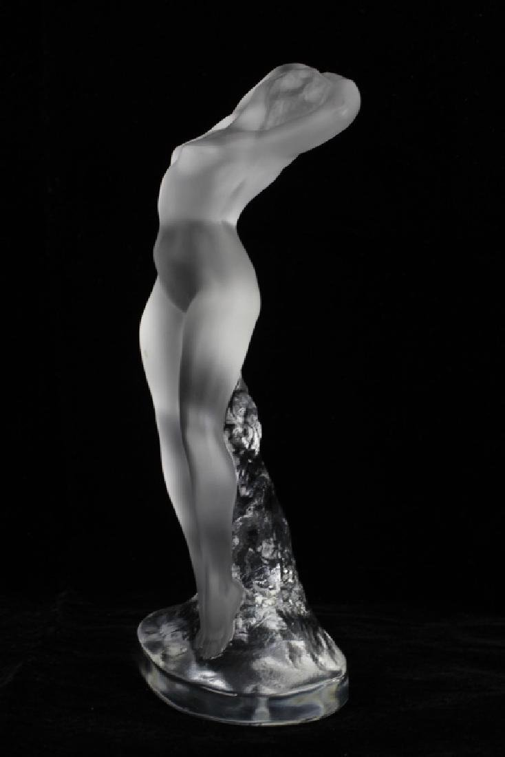 Lalique Figure of a Dancer - 3
