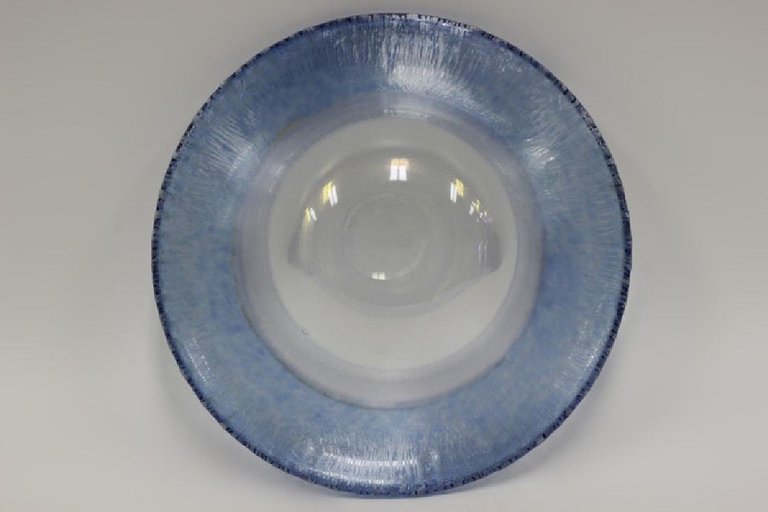Glass Bowl Signed Christopher Williams - 10