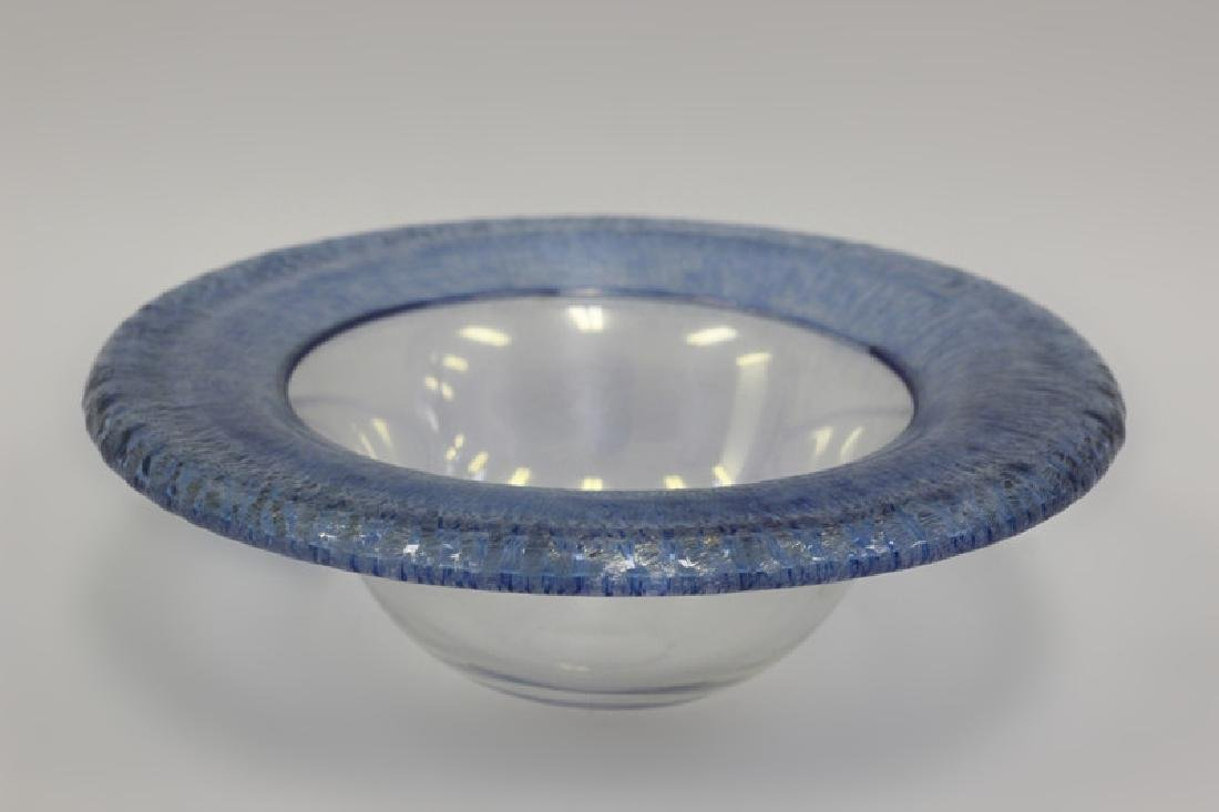 Glass Bowl Signed Christopher Williams - 2