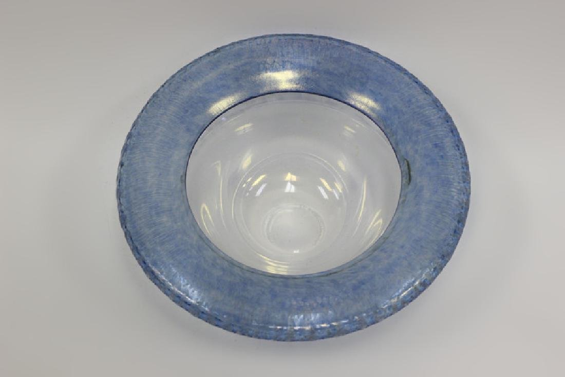 Glass Bowl Signed Christopher Williams - 3