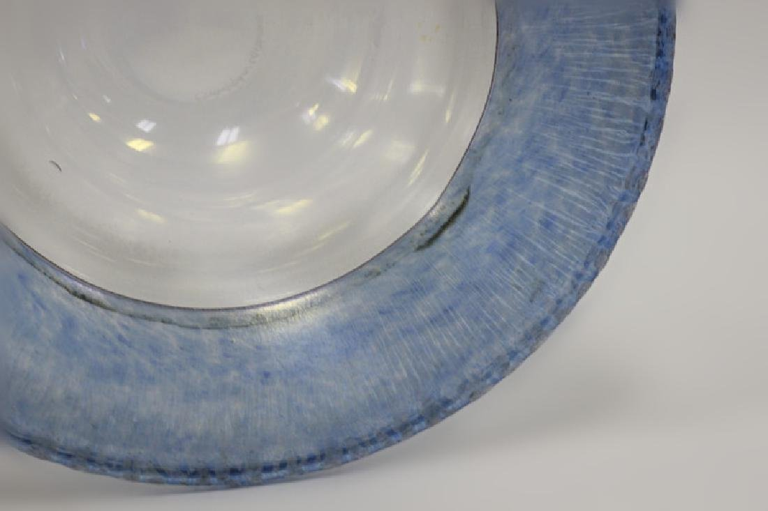 Glass Bowl Signed Christopher Williams - 9