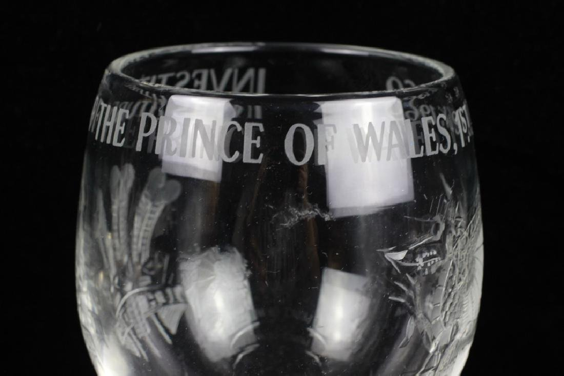 Large Cut Wine Glass, Prince of Wales - 6