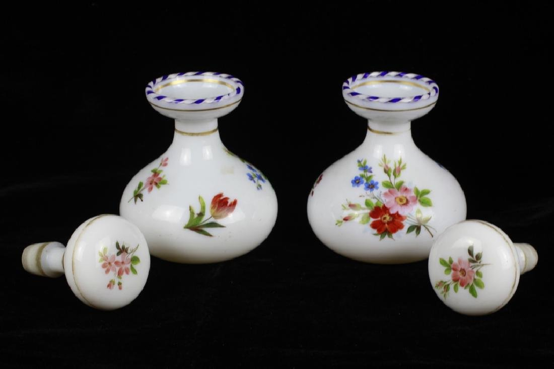Pair of 19thc Perfume Bottles - 6