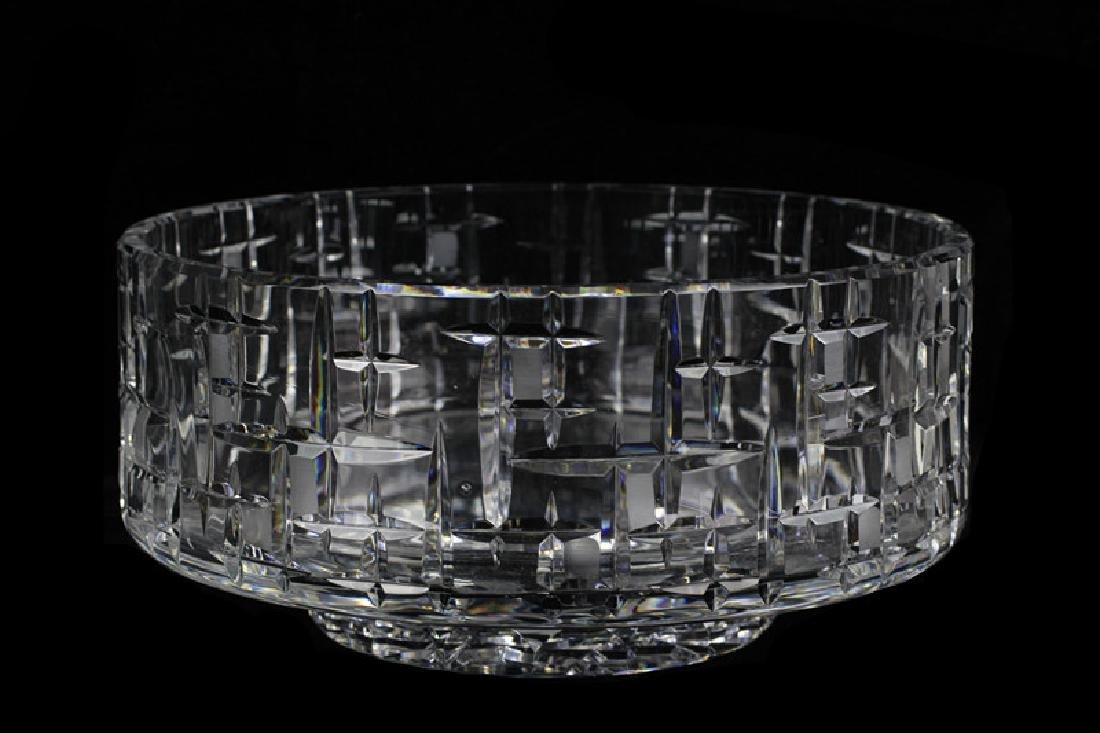 Mid Century Heavy Cut Crystal Bowl