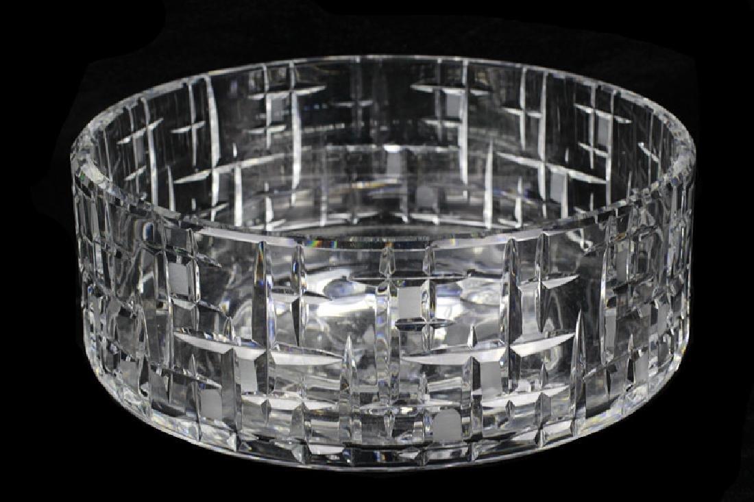 Mid Century Heavy Cut Crystal Bowl - 6