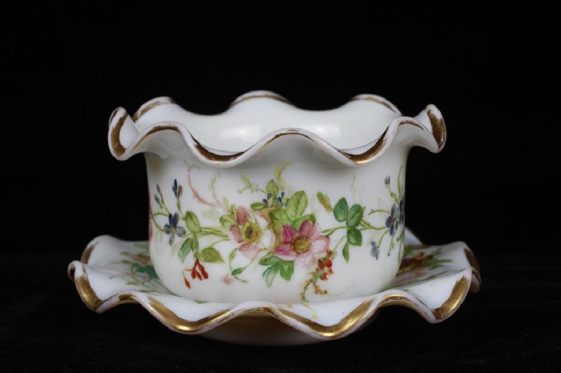 Group of Old Bohemian & Porcelain Items - 4