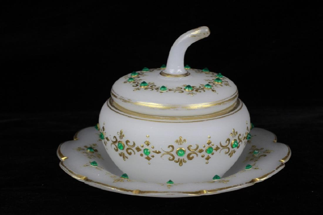 Group of Old Bohemian & Porcelain Items - 9