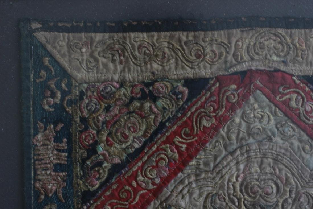 Pair of Gilt Framed Embroideries - 3