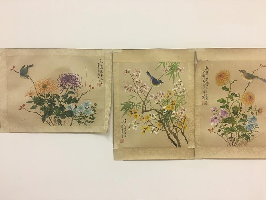 Set of Chinese Paintings