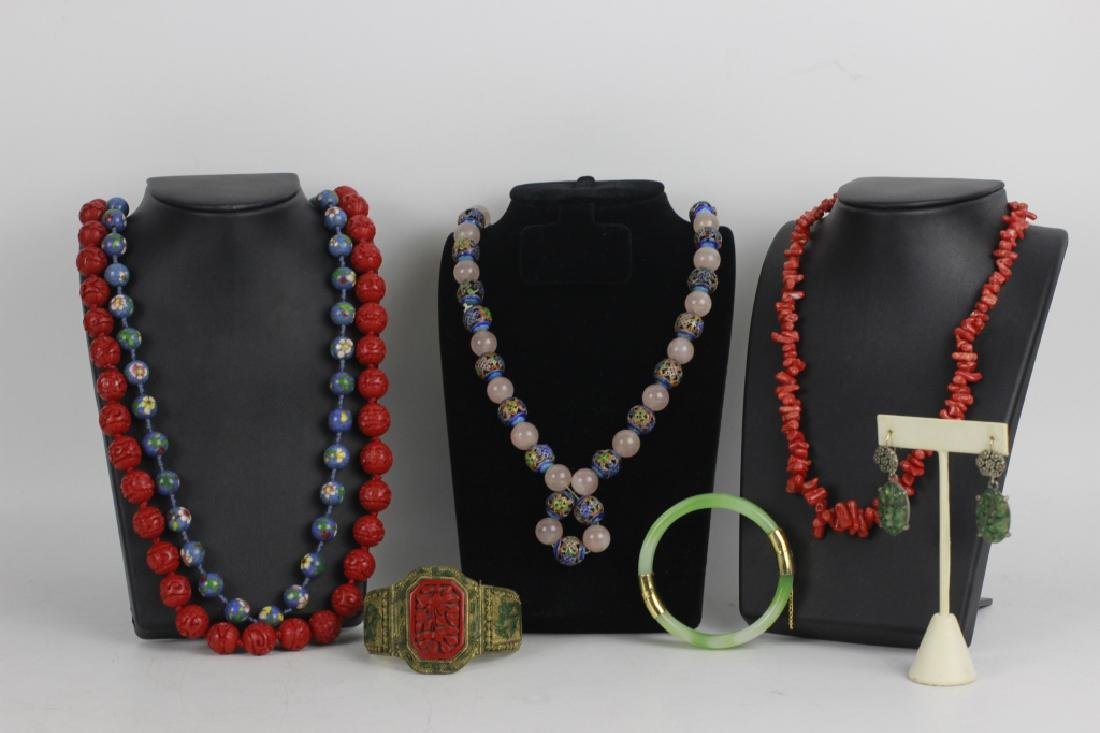 Group Lot of Chinese Jewelry