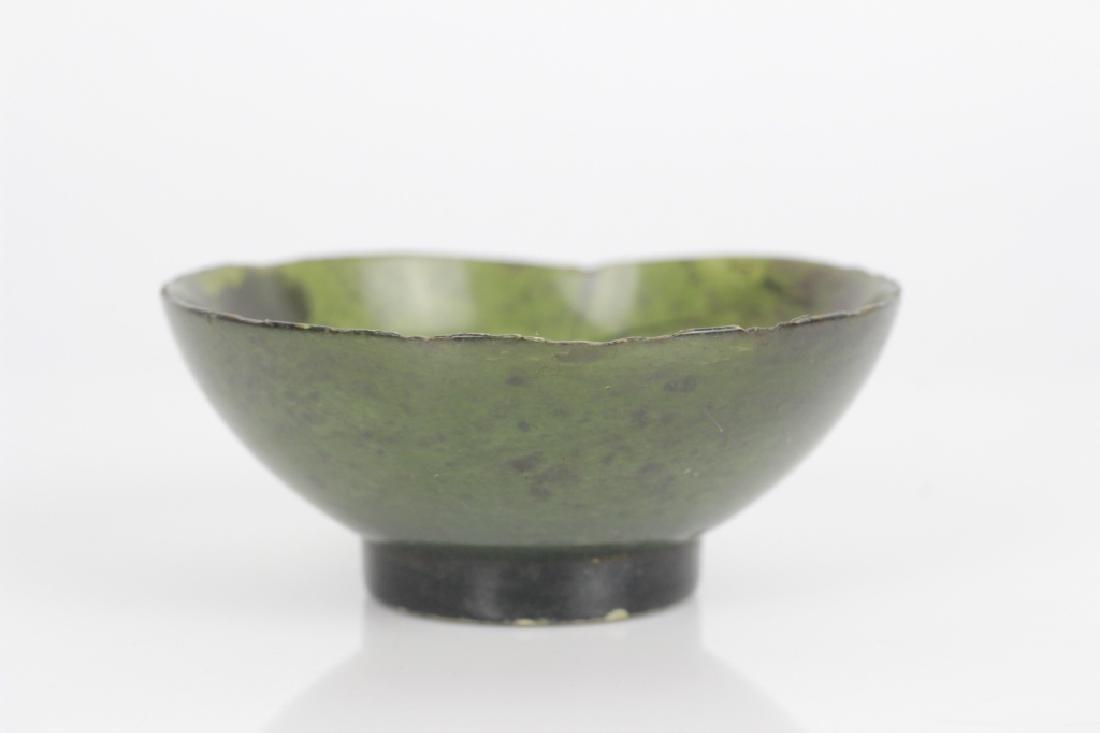 Green Jade Chinese Finger Bowl