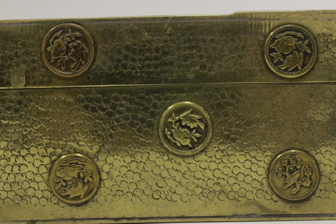 Late 19thc Chines Mixed Metal Box - 4