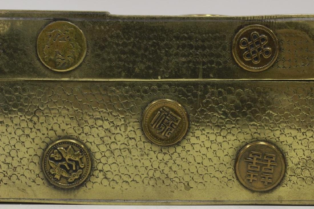 Late 19thc Chines Mixed Metal Box - 5