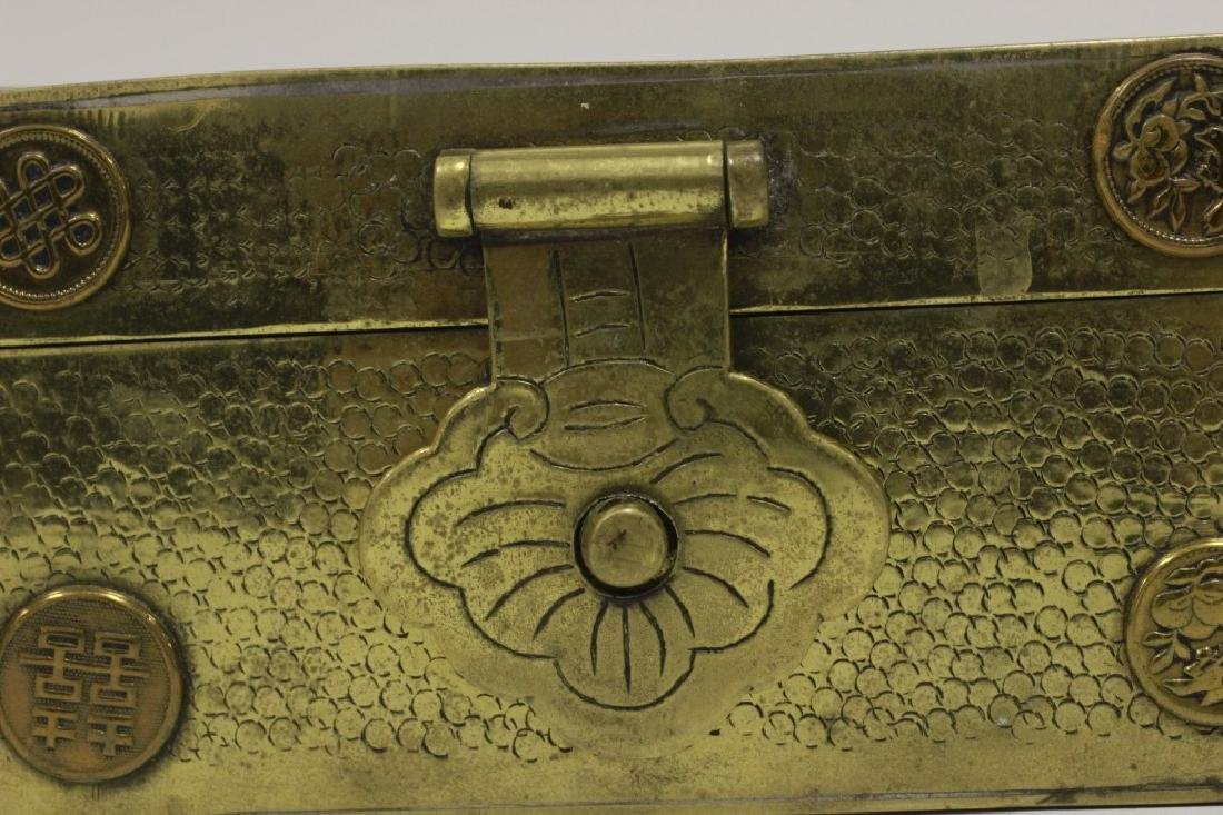Late 19thc Chines Mixed Metal Box - 6