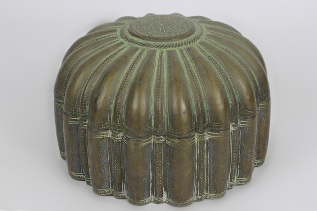 Antique Japanese Bronze Covered Box