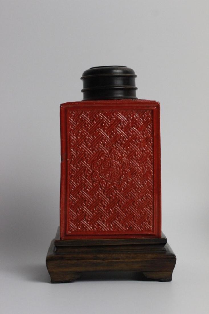 Late 19thc Pair of Chinese Porcelain Tea Caddies - 3