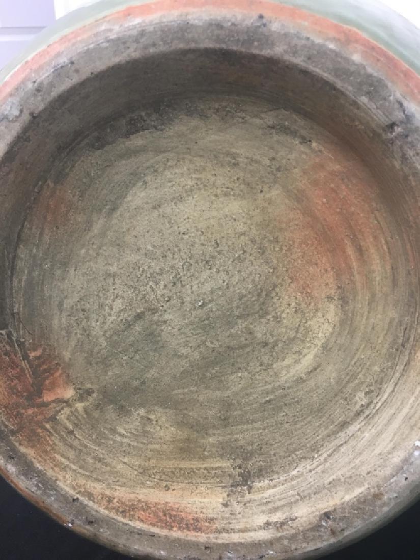 Chinese Celadon Porcelain Vase on Stand - 5