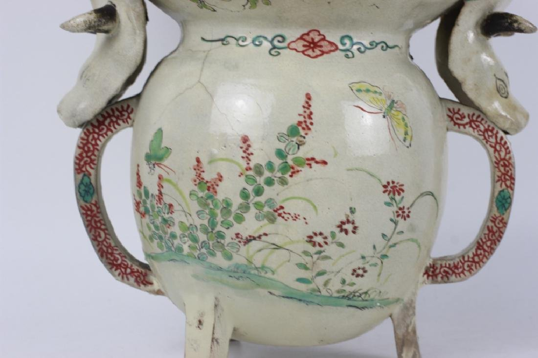 Early Japanese Satsuma Vase, Probably 17thc - 6