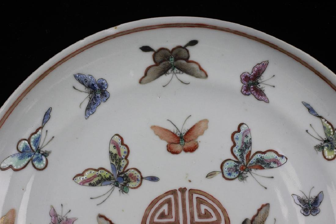 Pair of 19thc Chinese Export Plates - 3