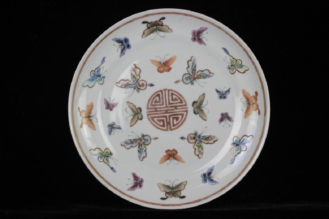Pair of 19thc Chinese Export Plates - 9